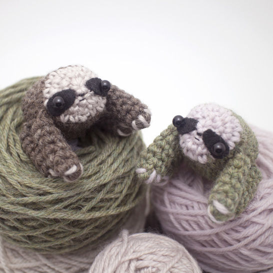 Amigurumi sloth crochet pattern at Makerist - Image 1