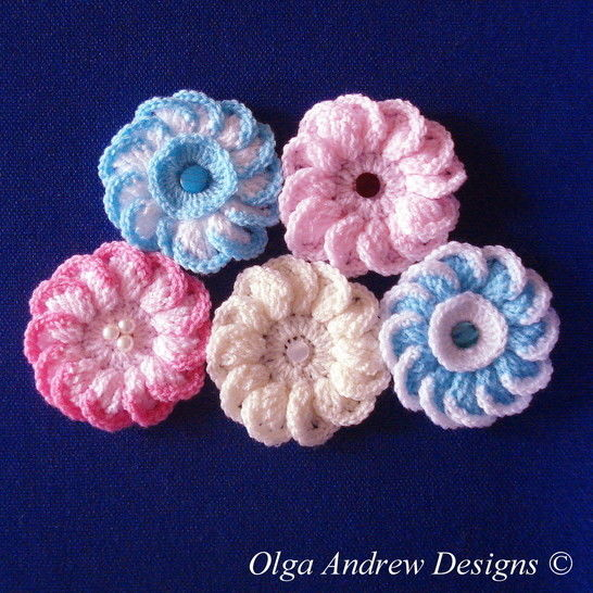 Camomile/daisy flower crochet pattern 021 at Makerist - Image 1