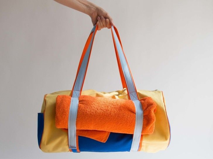 Yoga Beach Duffle Bag at Makerist - Image 1