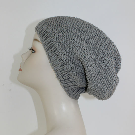 Moss Stitch Slouch Hat CIRCULAR at Makerist - Image 1