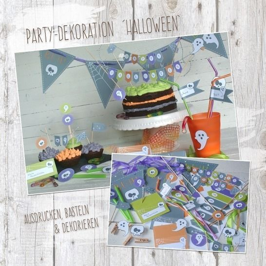 """Halloween"" - DIY Partydekoration bei Makerist - Bild 1"