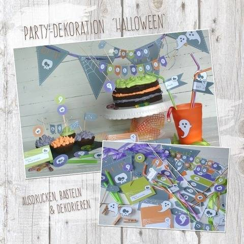 """Halloween"" - DIY Partydekoration"