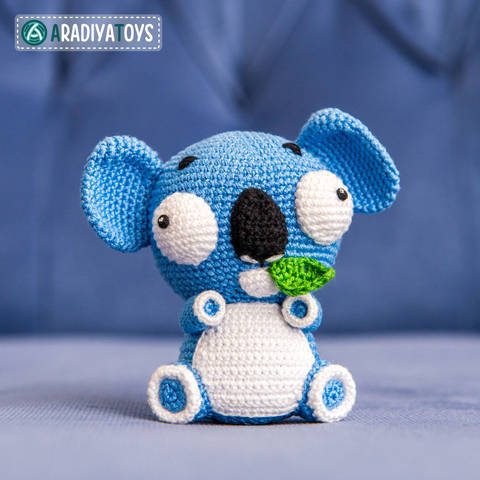 Crochet Pattern of Koala Noah by AradiyaToys