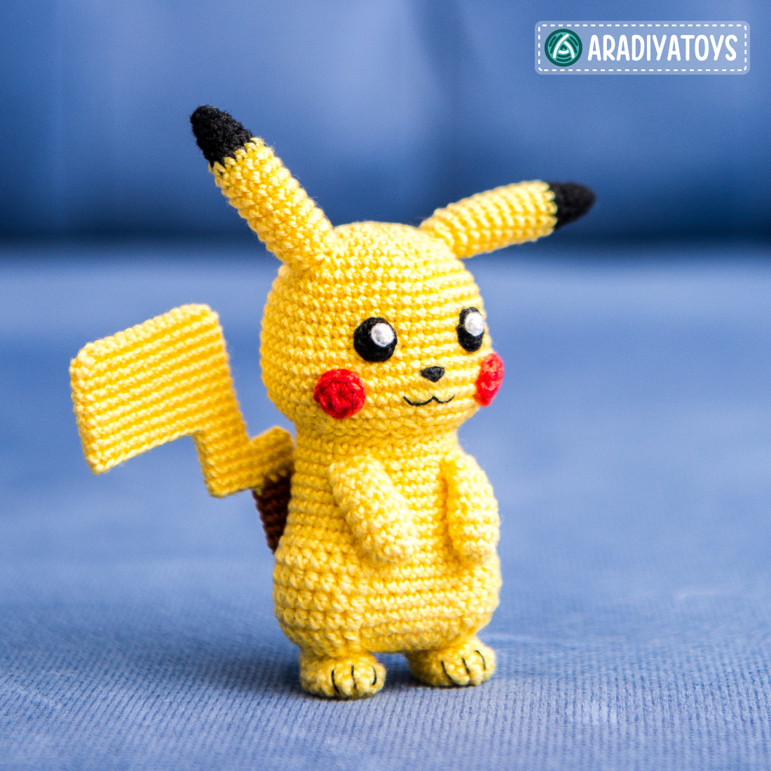 Crochet Pattern of Pikachu by AradiyaToys