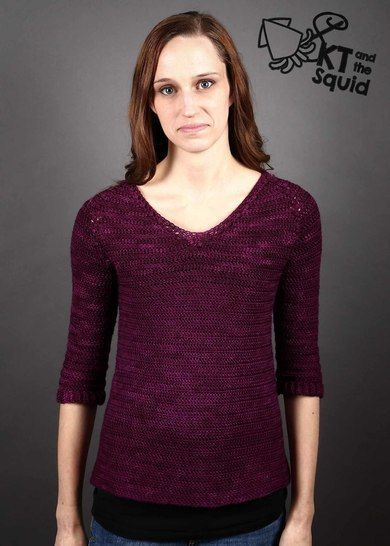 Baroque Pullover - Top down Crochet sweater pattern at Makerist - Image 1
