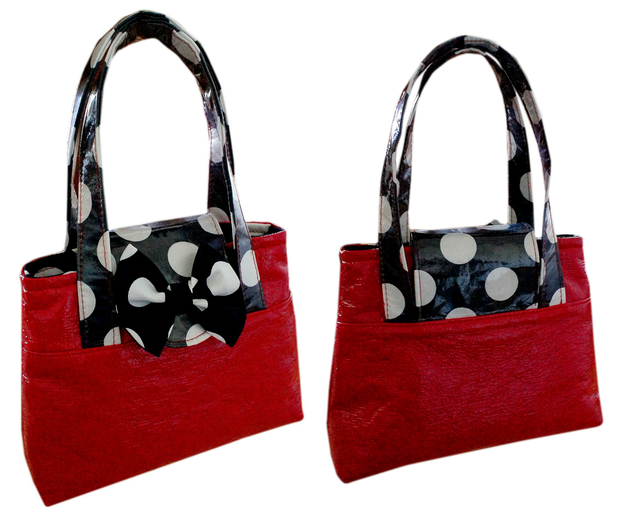 Girls Bag , Tote, Sewing Pattern with Video Tutorial