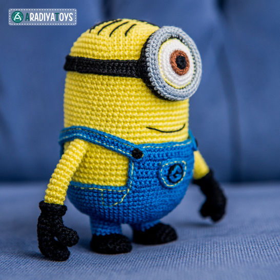 Crochet Pattern of Minion Stuart by AradiyaToys at Makerist - Image 1