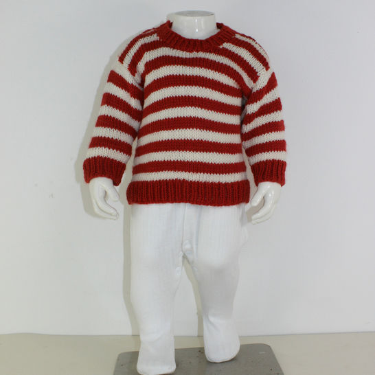 Baby Simple Stripe Sweater at Makerist - Image 1