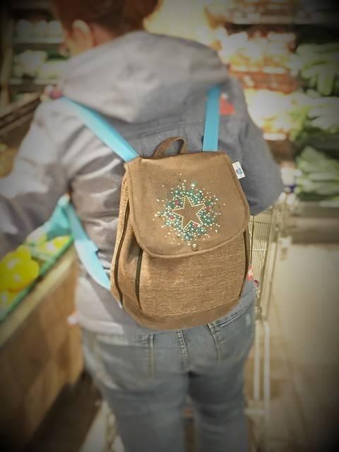 FleXXbagpack Schnittmuster Rucksack für Damen & Kinder bei Makerist