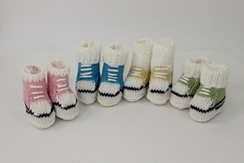 Baby First Basketball Booties at Makerist - Image 1