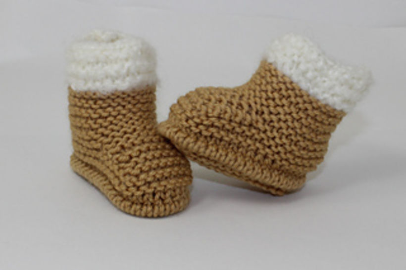 Baby Chunky Fur Top Booties at Makerist - Image 1
