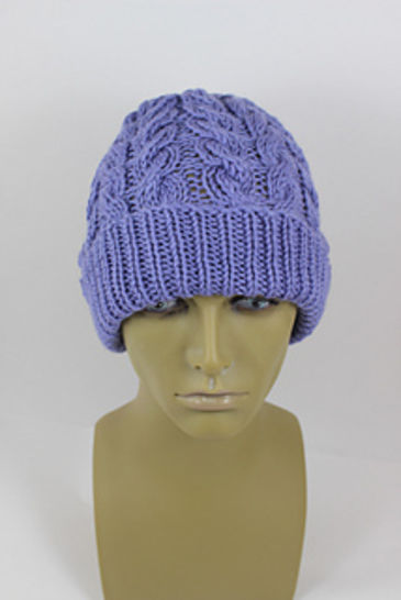 Chunky Double Twist Cable Beanie Hat at Makerist - Image 1