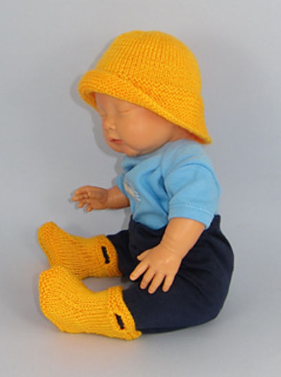 Baby Pull on Boots and Souwester at Makerist - Image 1