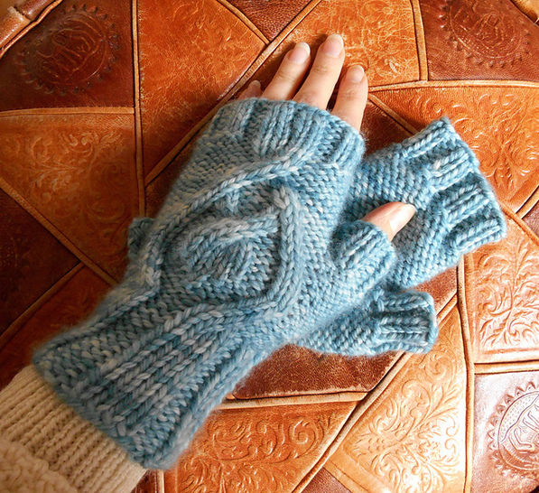 Amadare fingerless mitts at Makerist - Image 1