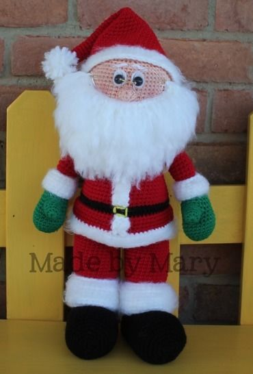 Santa Claus Amigurumi Pattern at Makerist - Image 1