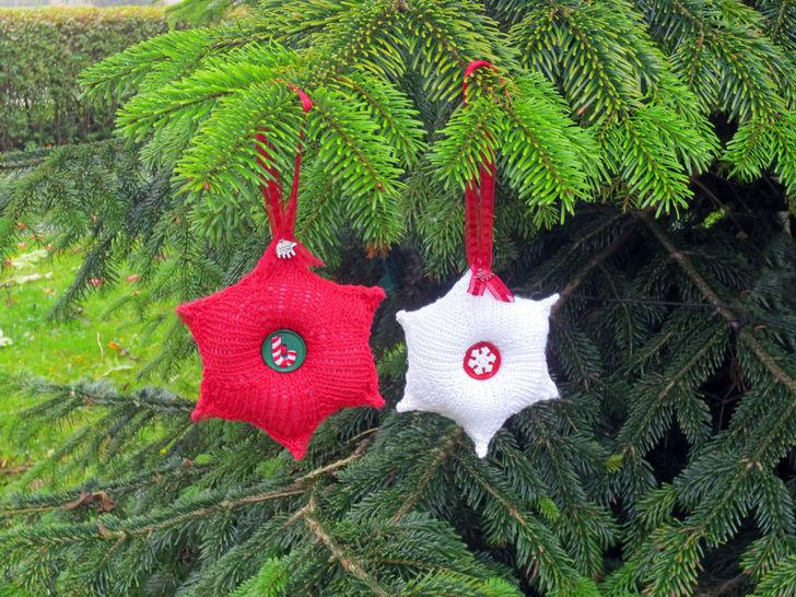 Strickanleitung Weihnachtsstern bei Makerist - Bild 1