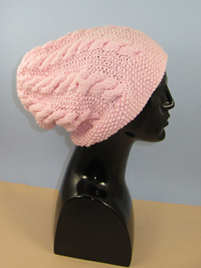 Chunky Cable Slouch Hat at Makerist - Image 1