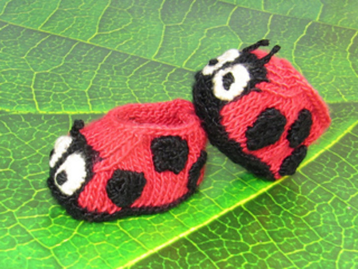 Baby Ladybird Booties at Makerist - Image 1
