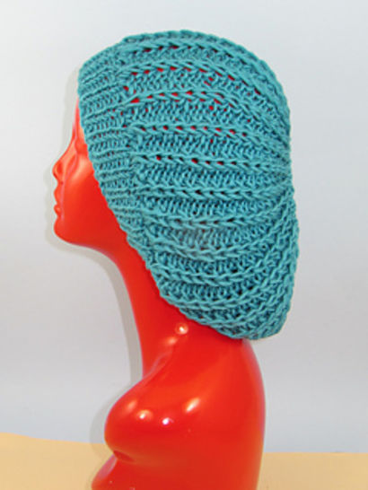 Chunky Fishermans Rib Super Slouch Hat at Makerist - Image 1