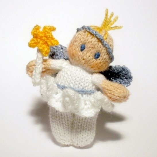Christmas Fairy Bitsy Baby Doll Knitting Pattern at Makerist - Image 1