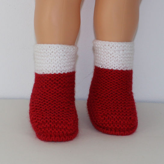 Baby Simple Christmas Booties at Makerist - Image 1