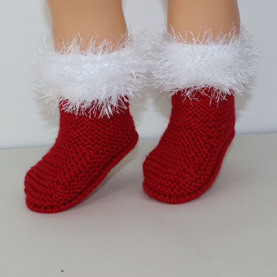 Toddler Simple Christmas Boots at Makerist - Image 1