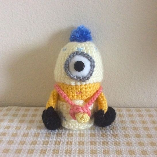 "Baby Minion from ""Despicable Me"" Movie Amigurumi Doll at Makerist - Image 1"