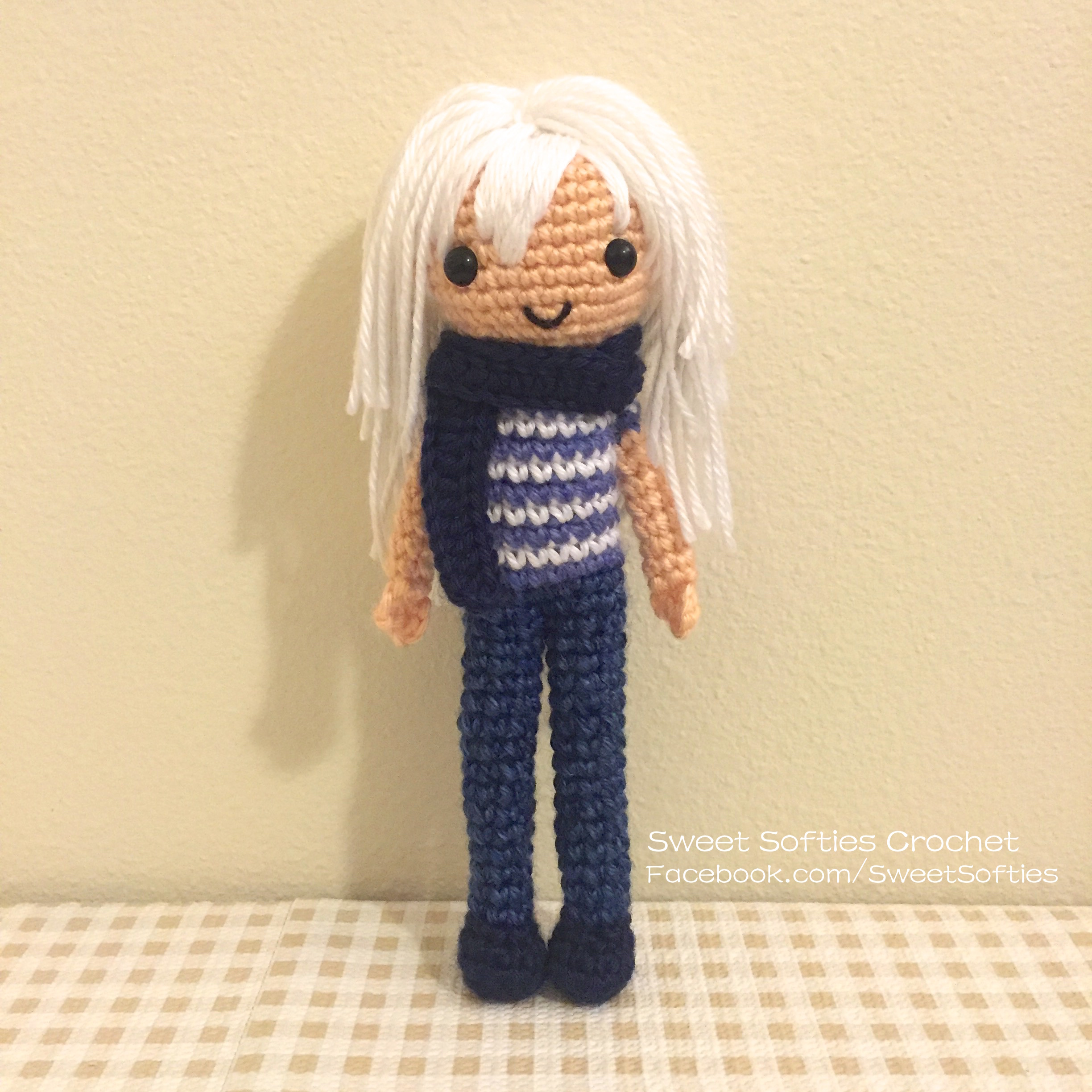 Anime Crochet Doll | Crochet dolls, Crochet doll, Knitted dolls | 2448x2448