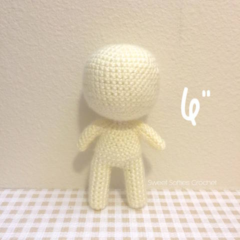 "Chibi Doll Base (6""), Human Body Child Toddler"