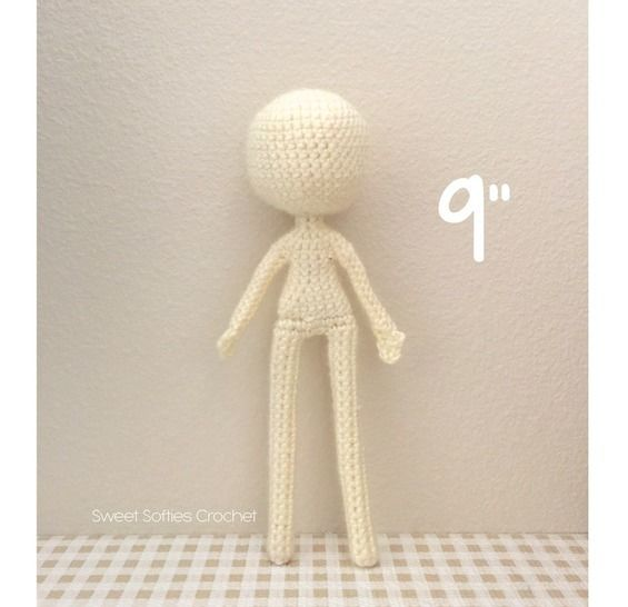 "Slender Doll Base (9""), Human Body at Makerist - Image 1"