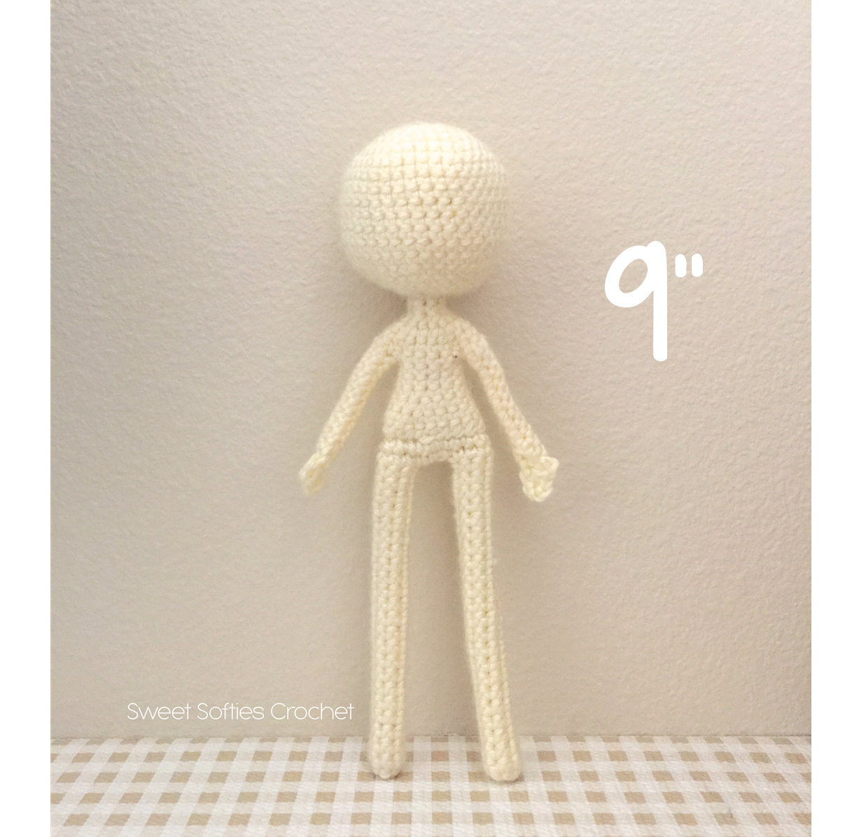 "Slender Doll Base (9""), Human Body"