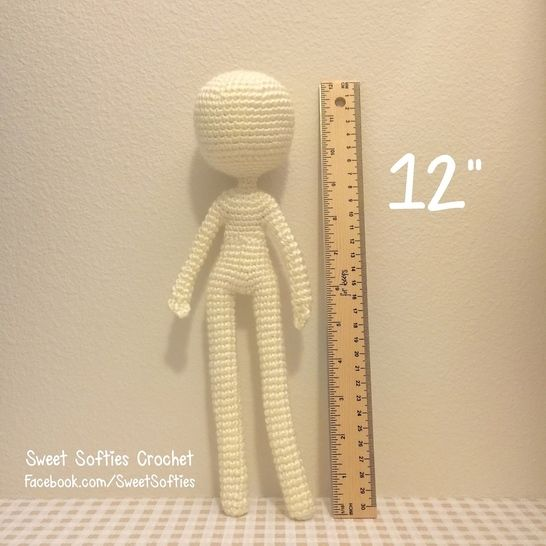 "Slender Doll Base (12""), Human Body at Makerist - Image 1"