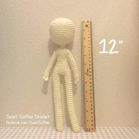 "Slender Doll Base (12""), Human Body"