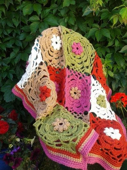 Chunky Throw Crochet Pattern at Makerist - Image 1