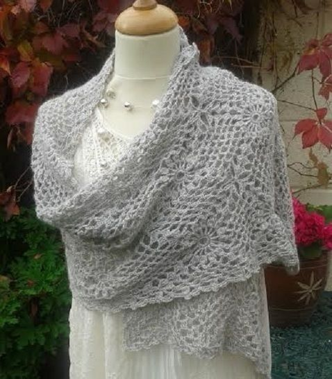 Alpaca Crochet Wrap Pattern at Makerist - Image 1