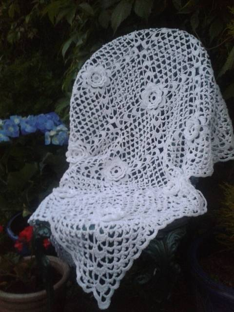 Irish Rose Baby Crochet Blanket