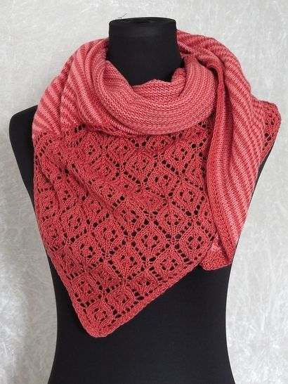Knitting pattern shawl, scarf Amrun at Makerist - Image 1