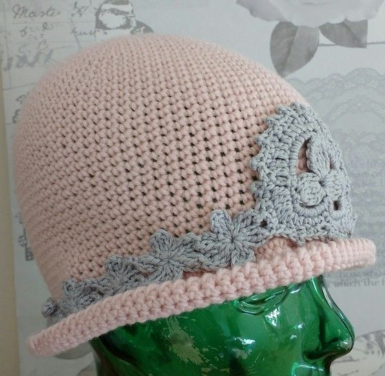 Pretty in Pink Cloche Crochet Pattern at Makerist - Image 1