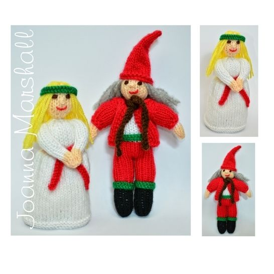 St. Lucia Doll & Christmas Elf Doll  at Makerist - Image 1