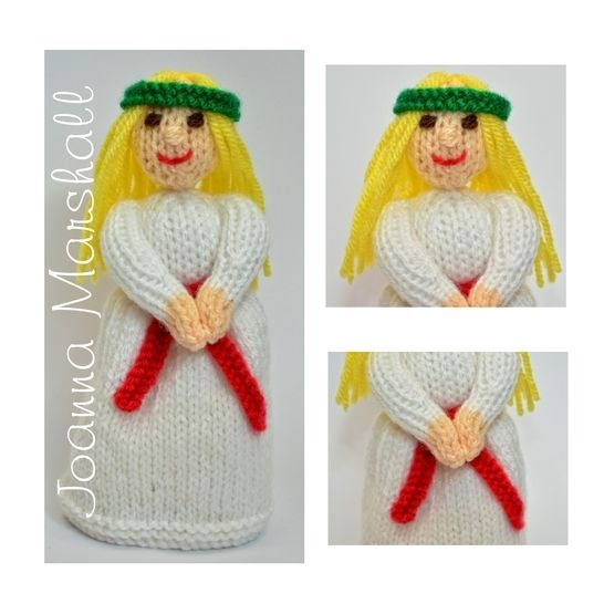 St Lucia Christmas Doll  at Makerist - Image 1
