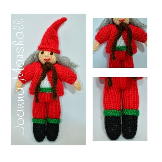 Christmas Scandinavian Elf Doll  at Makerist - Image 1