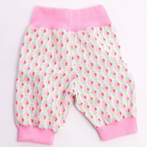 ARIA Baby pants  with ribbing at waistband and cuffs