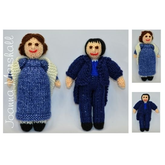 Jane Austen Pride and Prejudice Dolls at Makerist - Image 1