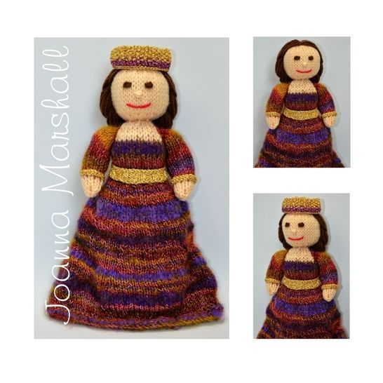 A Byzantine Empress Doll 530AD at Makerist - Image 1