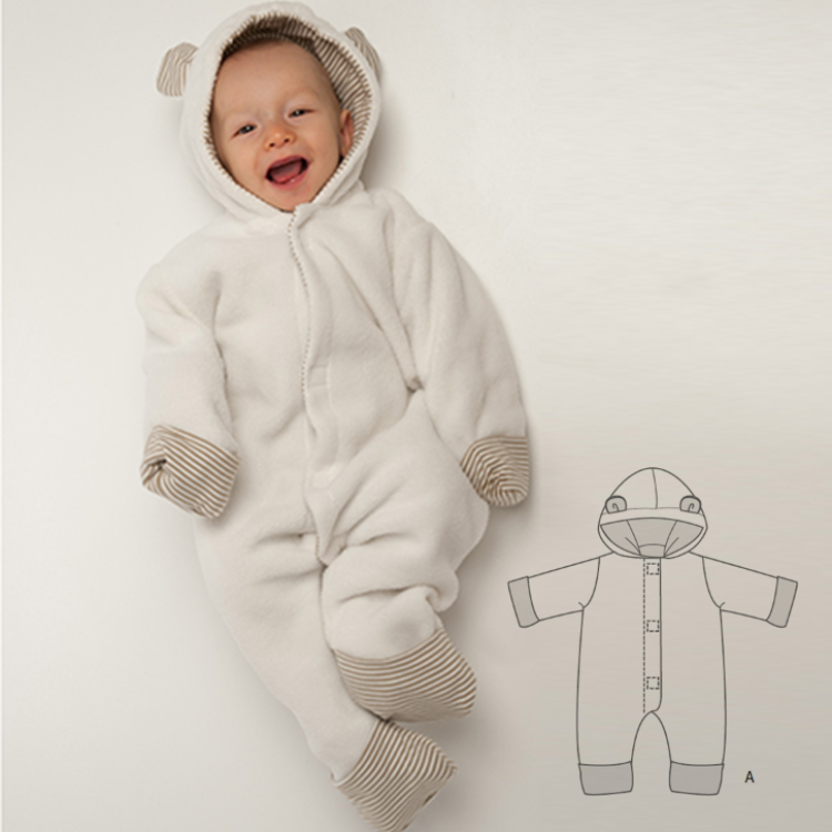 CASSIA Schnittmuster Baby Overall