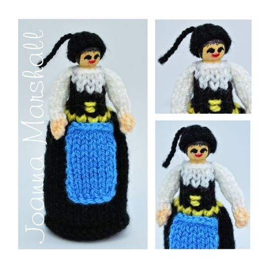 Iceland National Costume Peg Doll at Makerist - Image 1