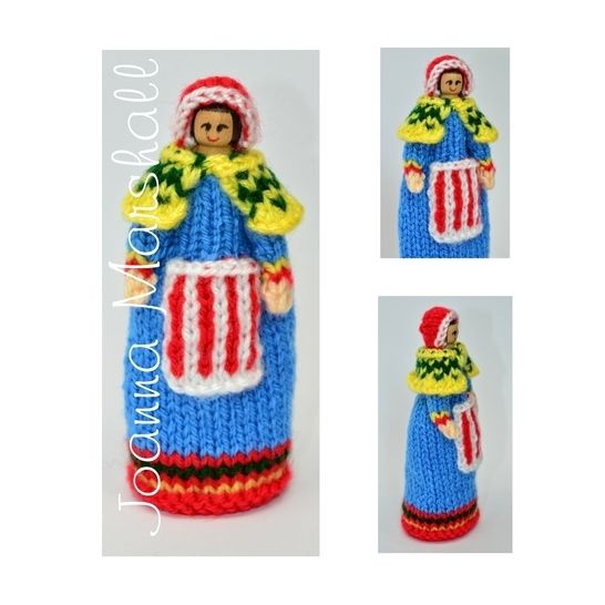 Lapland National Costume Peg Doll at Makerist - Image 1