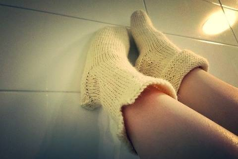 Slippers knitting pattern tutorial