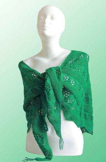 Knitting pattern shawl The Shire at Makerist - Image 1