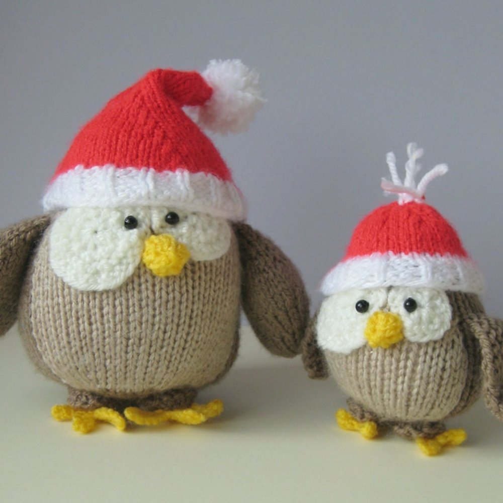 Festive Owls